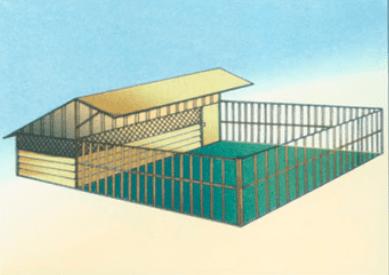 Contoh design kandang lantai campuran | Image 5