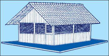 Design kandang ayam dengan atap genting | Image 4