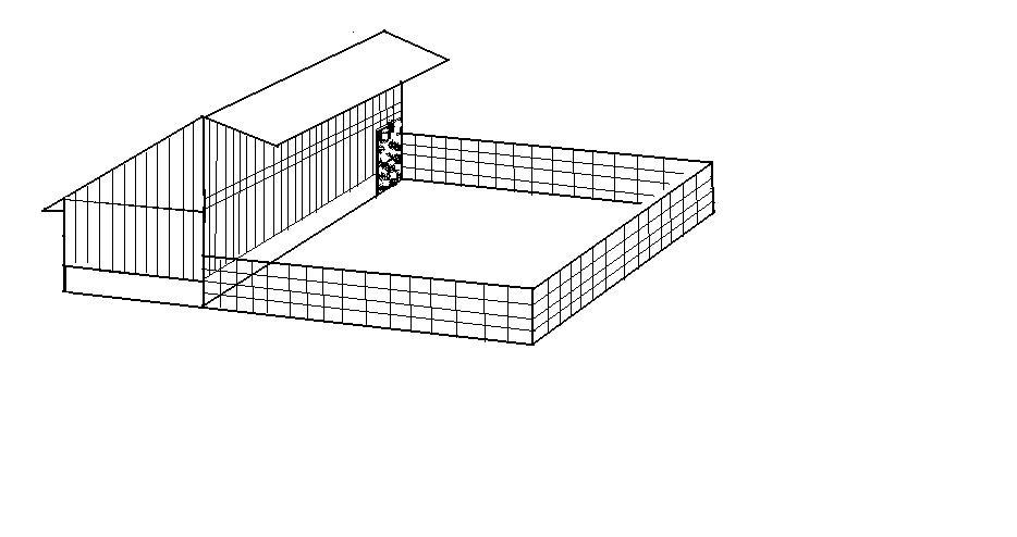 Contoh kandang Ren yang banyak digunakan sebagai kandang pembesaran ternak bebek petelur | image 6