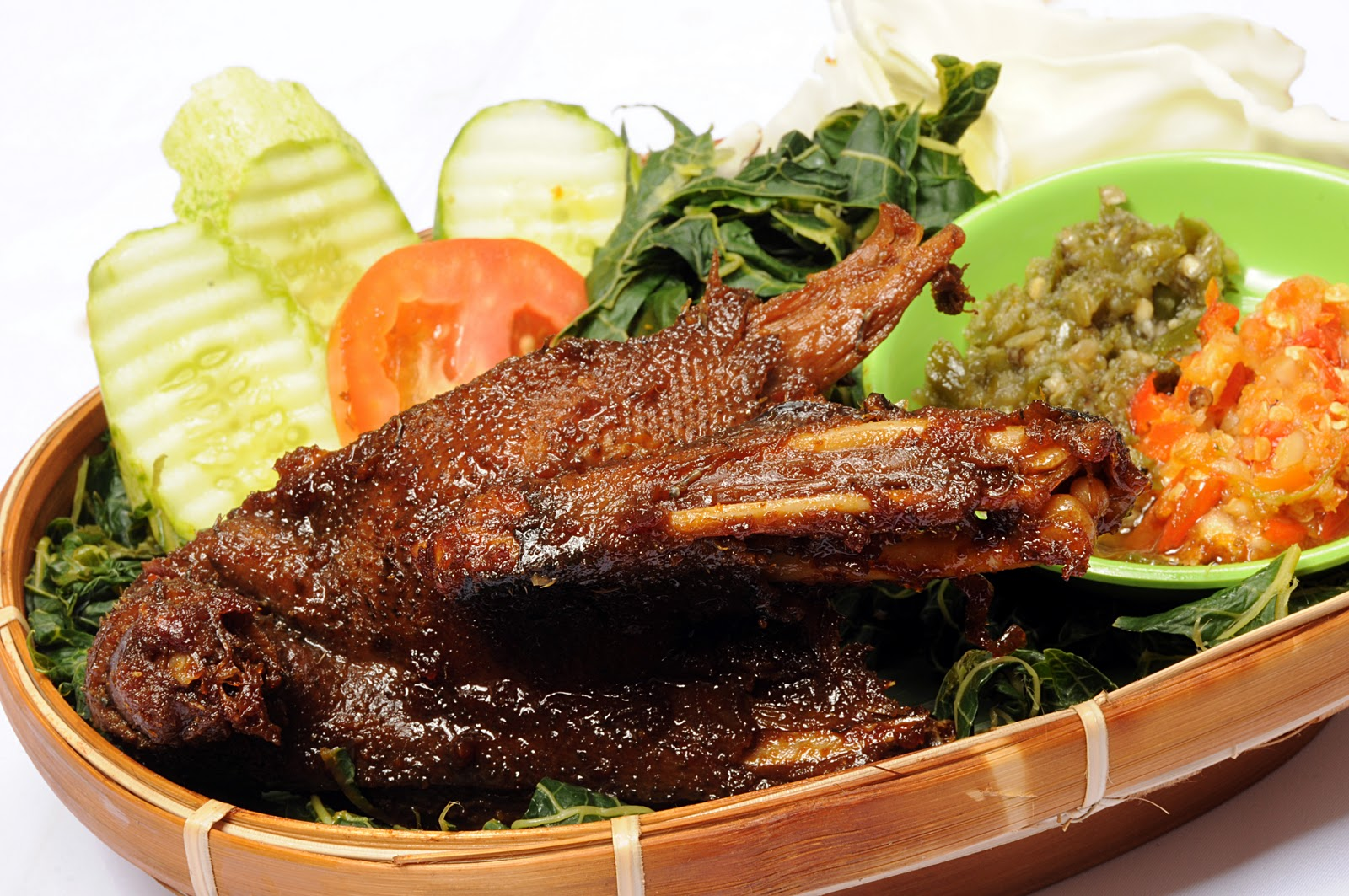 Salah satu kuliner dari daging bebek