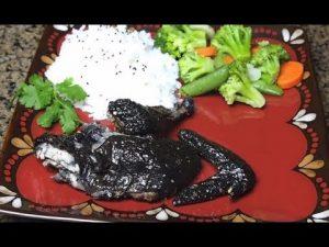Cemani Chicken Grill HOBI TERNAK Ayam Cemani Meat word3