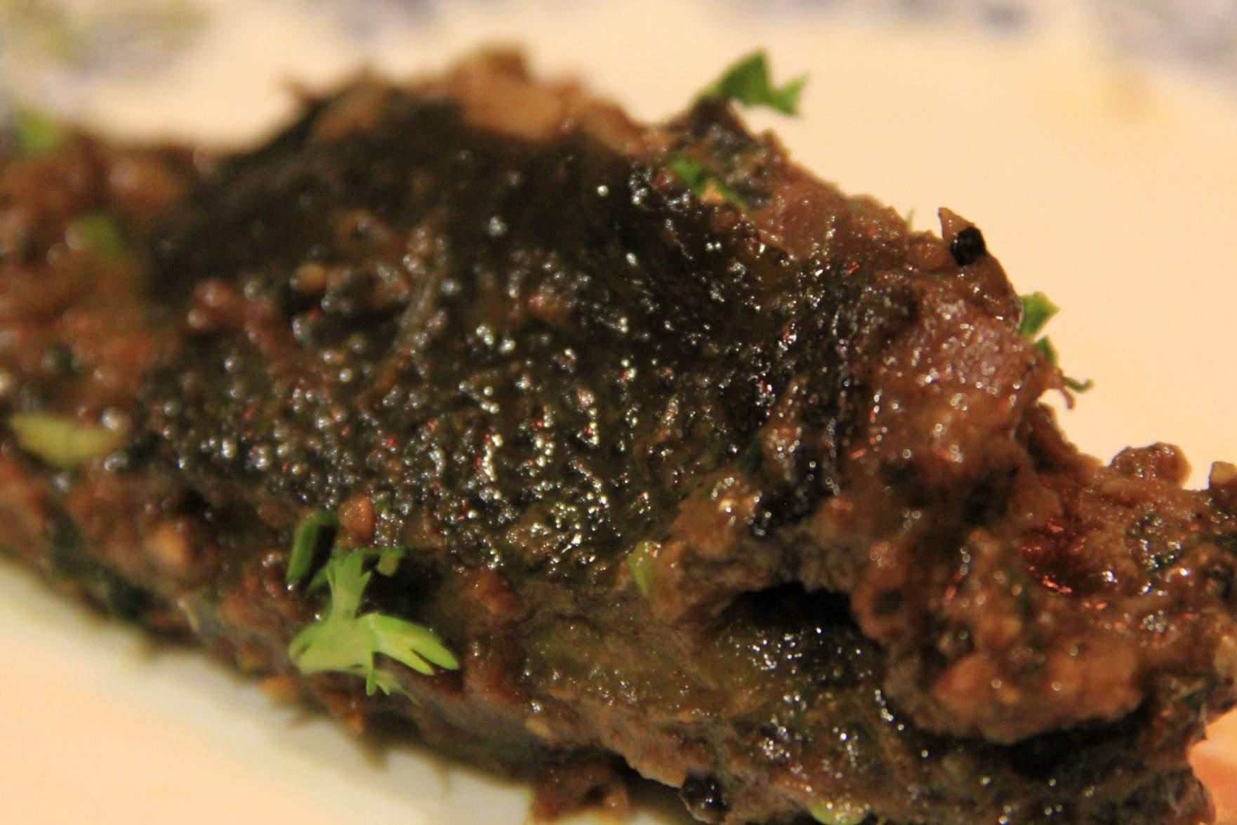 Black chicken curry