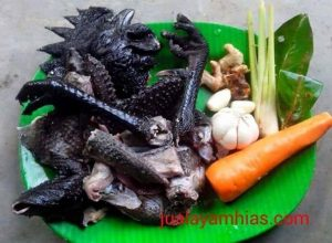 Cemani chicken meat can be consumed in various cooking methods   Cemani meat
