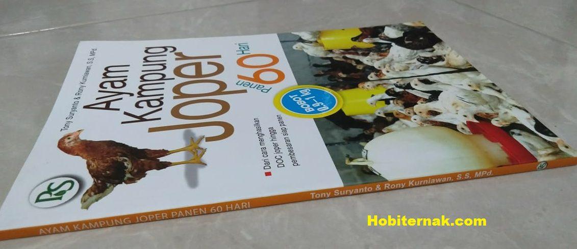 "Buku Panduan ""Ayam Kampung Joper Panen 60 Hari"""