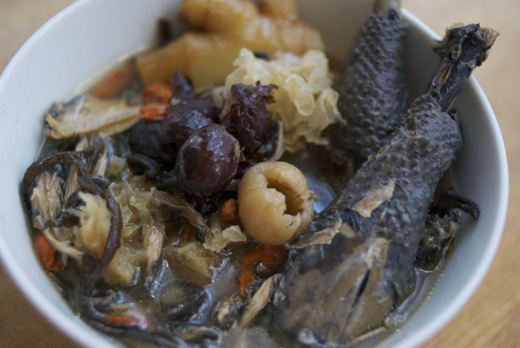 Delicious cemani soup
