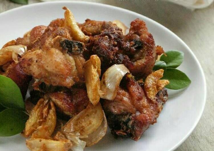 Ayam Goreng Bawang Putih HOBI TERNAK Ukuran Kandang Ayam Pejantan word3