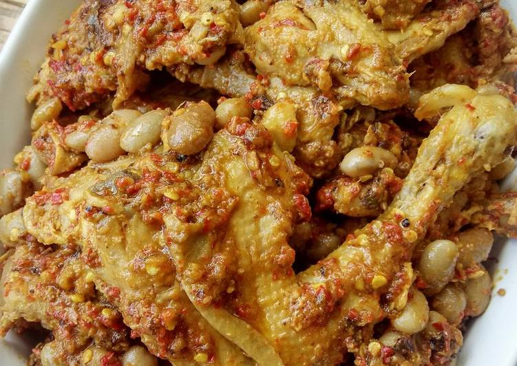 Rendang Ayam Kacang Merah HOBI TERNAK Ukuran Kandang Ayam Pejantan word3