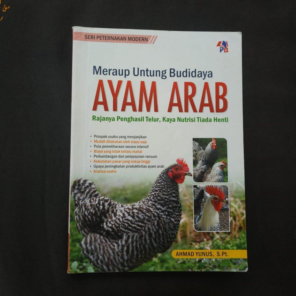 Buku MERAUP UNTUNG BISNIS AYAM ARAB