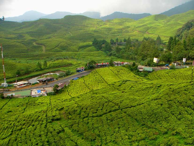 Letak kabupaten Cianjur yang