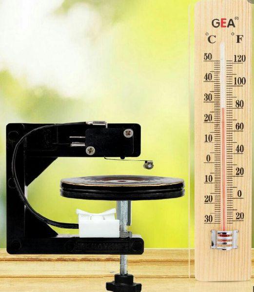 Thermometer mesin tetas