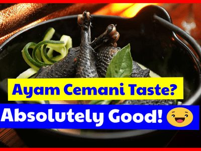 Are you curious about the taste of ayam cemani? The taste of ayam cemani meat is delicious.